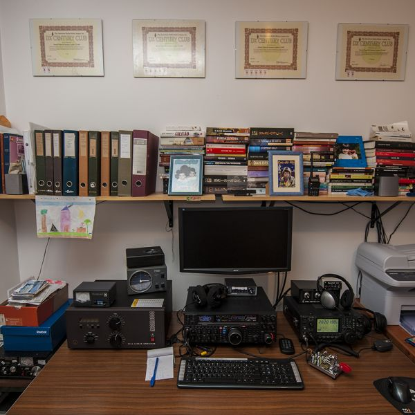 Madeira Island CT3HF Radio Room