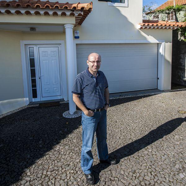 Остров Мадейра CT3HF Дуарте, CT3HF, перед своим домом