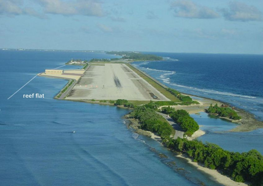 Majuro Atoll Marshall Islands V73XP Airport