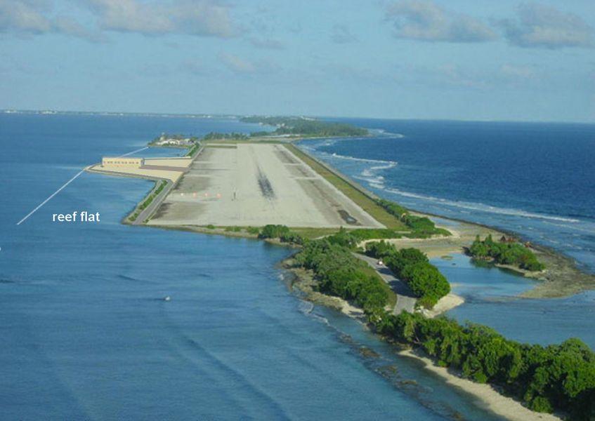 Атолл Маджуро Маршалловы острова V73XP Аэропорт