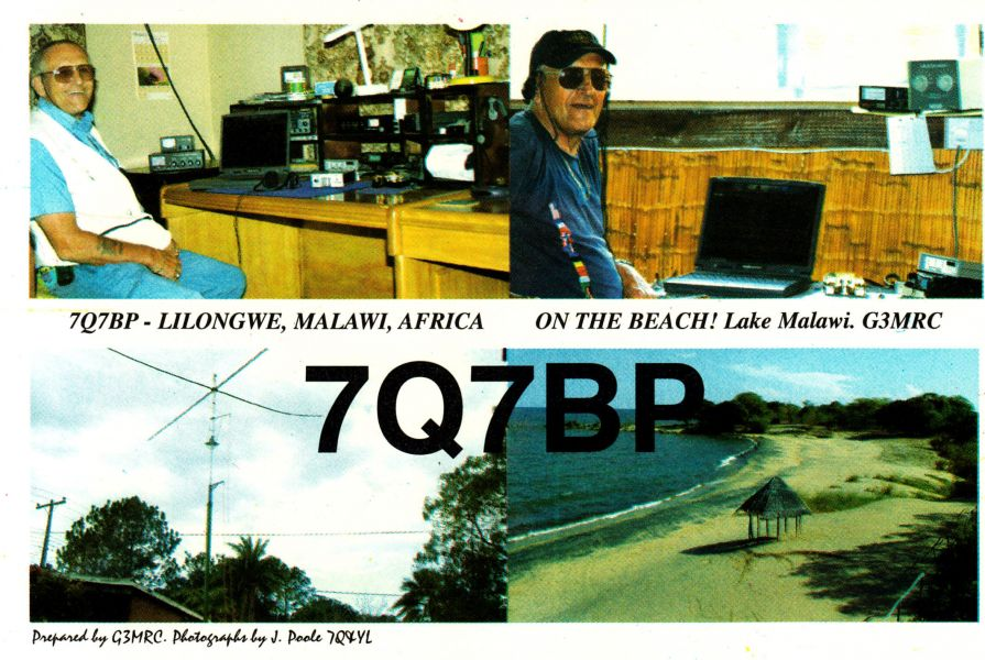 Malawi 7Q7BP QSL