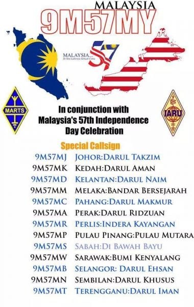Malaysia Independence Day 57 Years