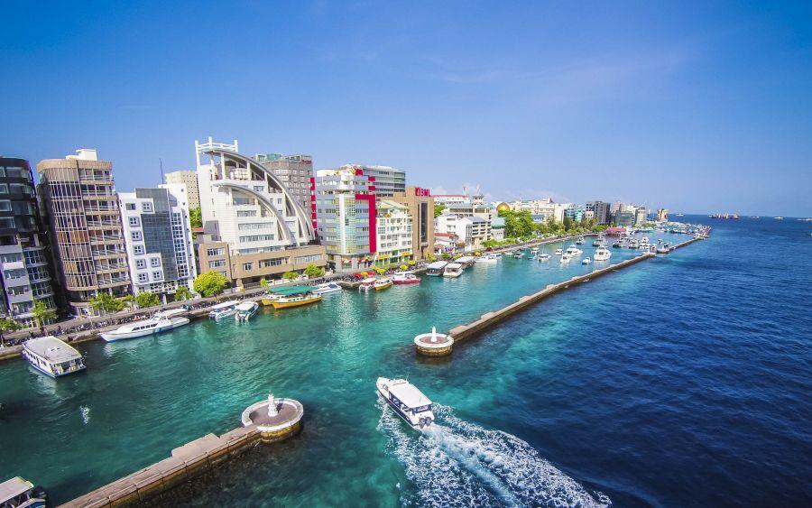 Maldive Islands 8Q7WK Tourist attractions spot