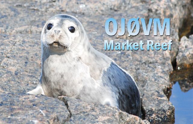 Market Reef OJ0VM QSL