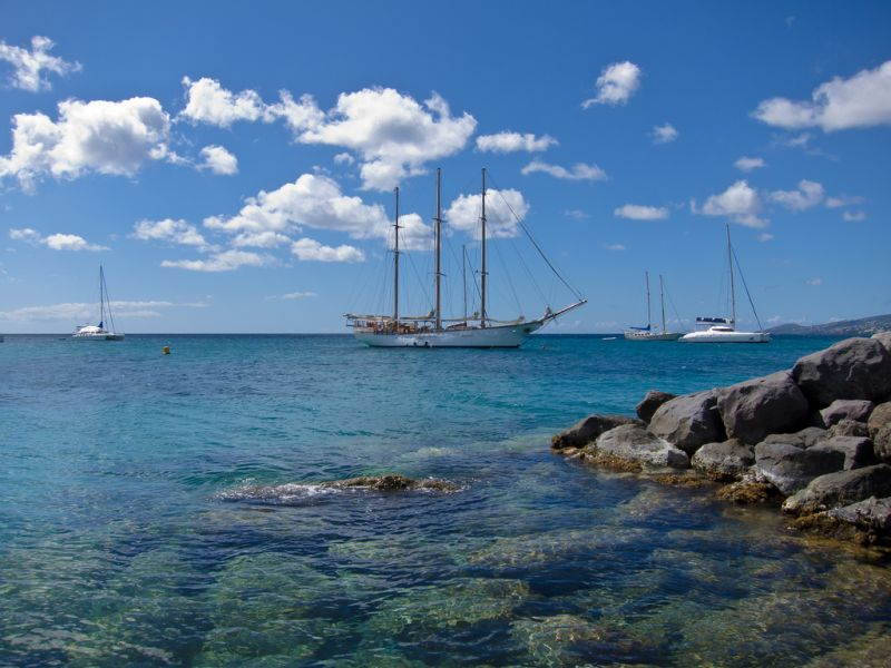 Остров Мартиника TO8M