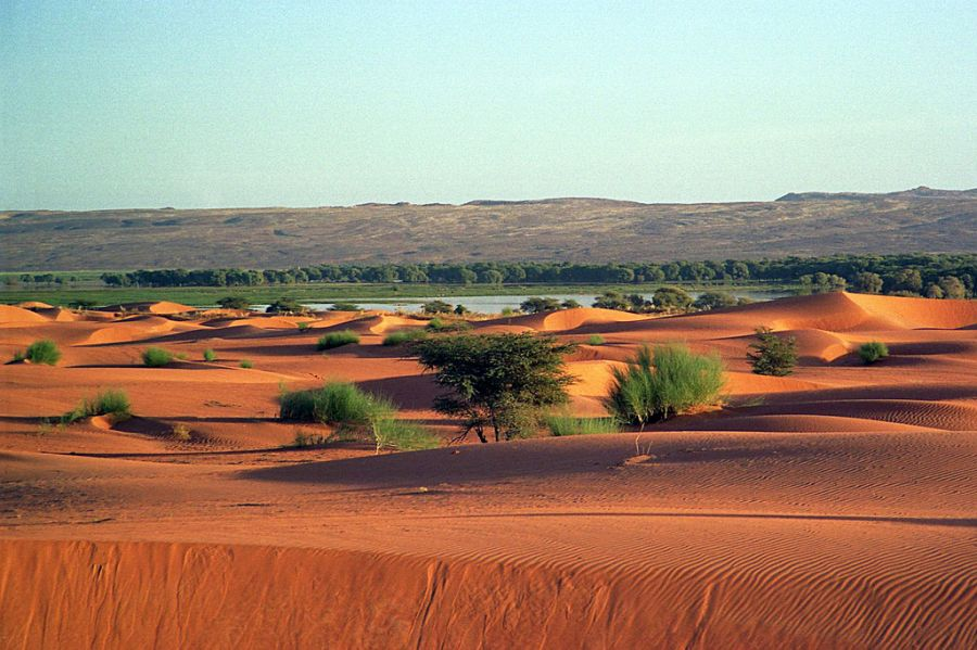 Mauritania 5T0WP Tourist attractions spot Tagant.
