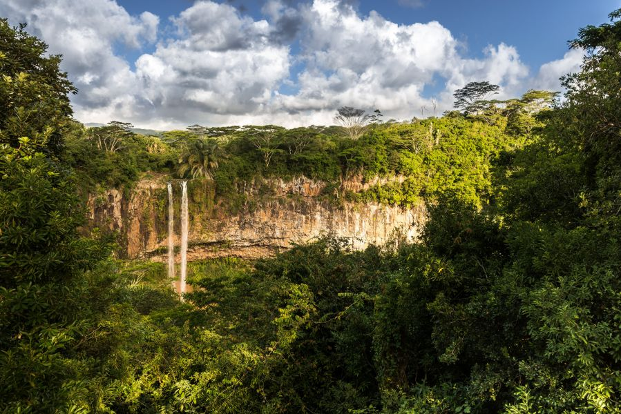 Mauritius Island 3B8/M0DSL DX News Chamarel waterfall on the River du Cap.