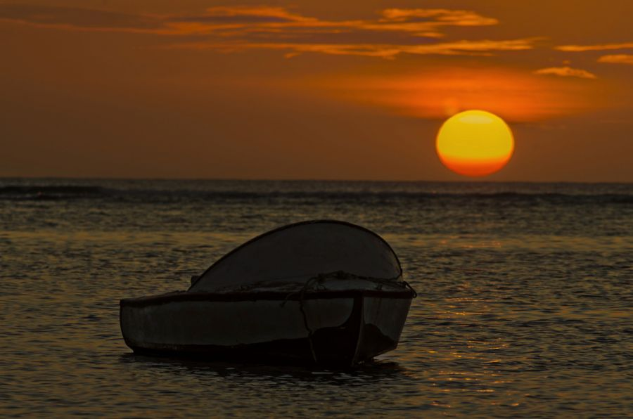 Mauritius Island 3B8/M0DSL Albion Lagoon.