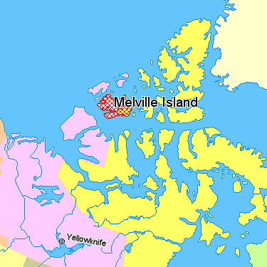 Melville Island Canada VY0M DX News Map