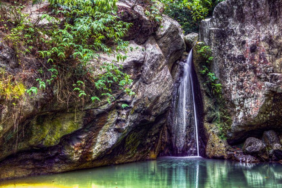 Остов Миндоро DU1/R7KW DU1/YL3JM Туристические достопримечательности Водопад.