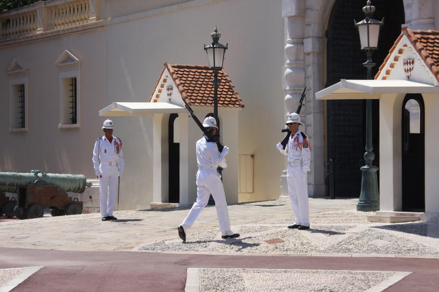 Монако 3A90IARU Туристические достопримечательности