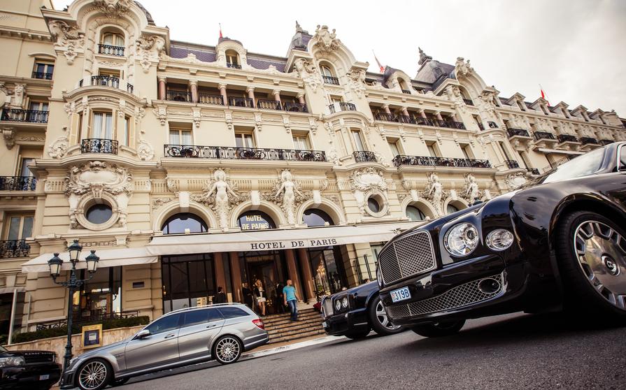 Монако 3A/F4FET 3A/F4HAU Туристические достопримечательности Отель де Пари