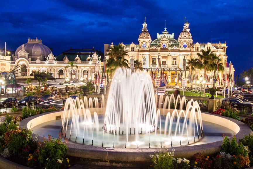 Monaco 3A/F4FET 3A/F4HAU Casino Monte Carlo