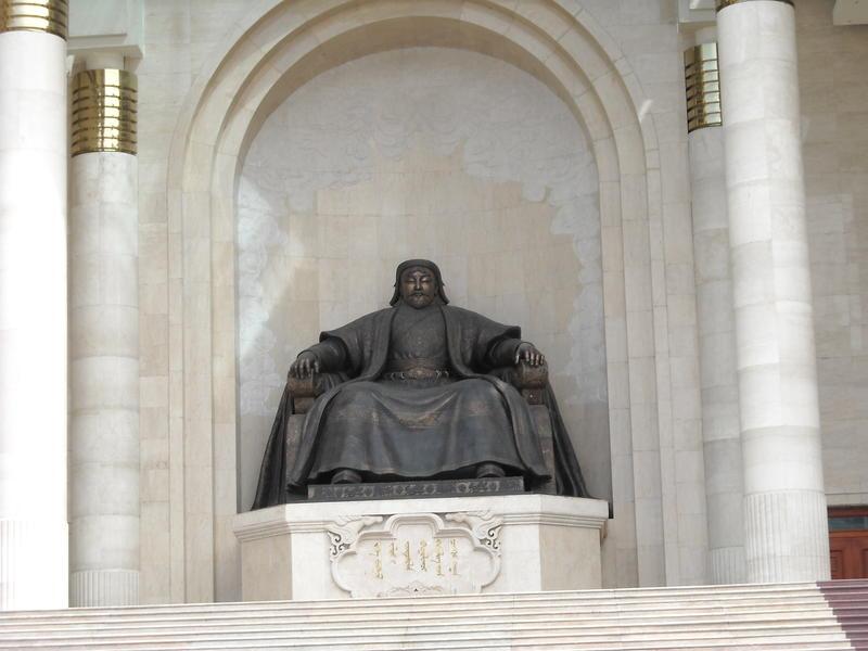 Mongolia JT1NOC Genghis Khan monument