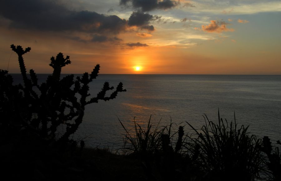 Montserrat Island VP2MGT DX News Sunset.