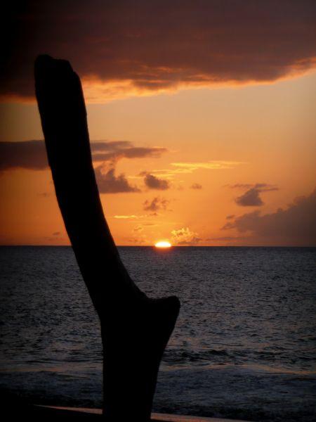Montserrat Island VP2MRF Tourist attractions spot Sunset.
