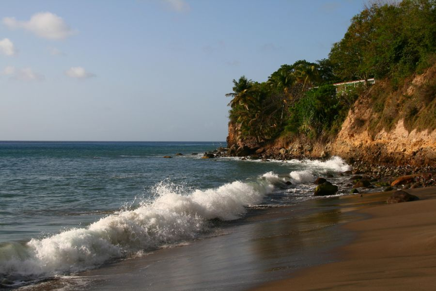 Остров Монтсеррат VP2MWA Туристические достопримечательности Вудленд Бэй