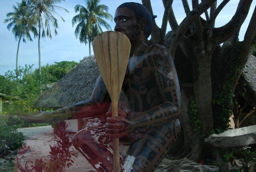 Остров Муреа Французская Полинезия FO/NH6XO Туристические достопримечательности