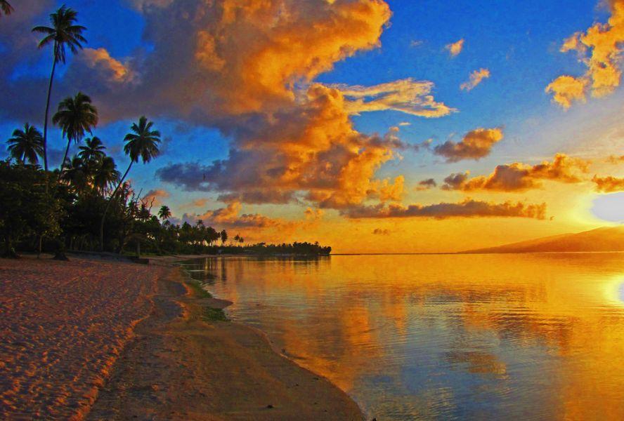 Остров Муреа Французская Полинезия FO/DF1YP Туристические достопримечательности