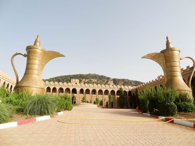 Morocco CN2AA Tourist attractions spot