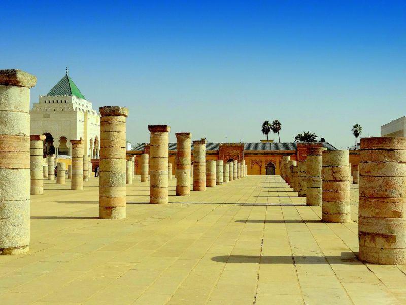 Марокко CN2AY DX Новости Мавзолей Мохаммеда V, Рабат.