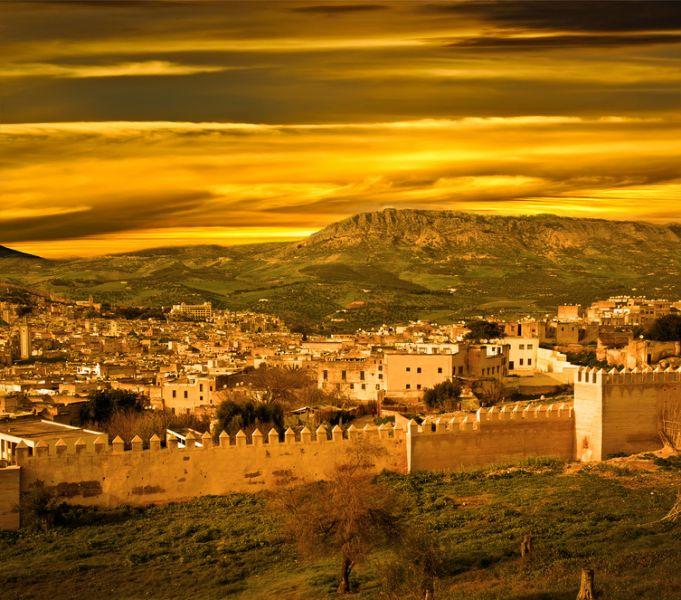 Марокко CN2KV Туристические достопримечательности