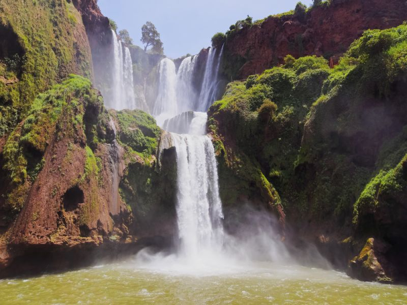 Morocco CN9WP DX News Ouzoud Waterfalls.