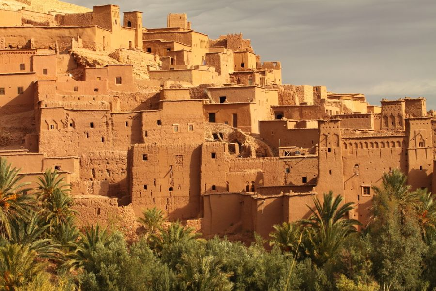 Марокко CN9WP Аит Бен Хадду.