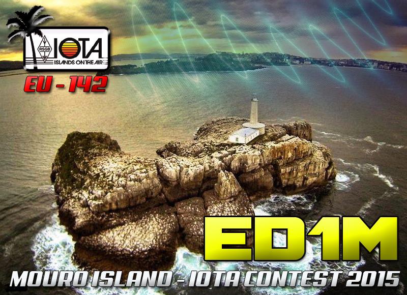 Mouro Island ED1M QSL