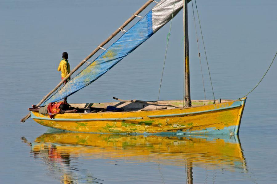 Мозамбик C92ZO DX Новости Традиционная лодка доу Dhow