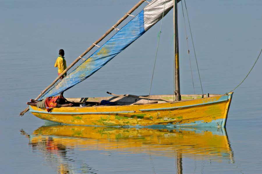 Mozambique C92ZO DX News Traditional sail boat called a dhow