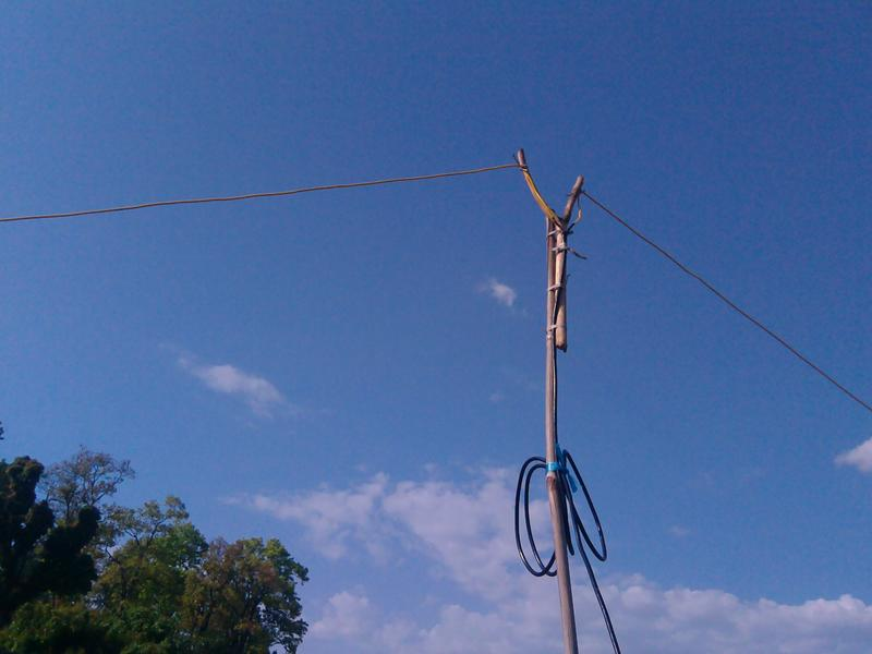 Непал 9N3DX Антенна