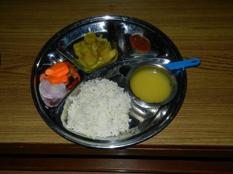 Nepal 9N7CB Food