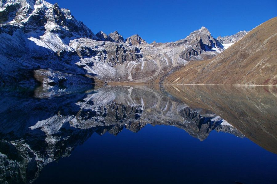 Непал 9N7NH Озеро Гокио.