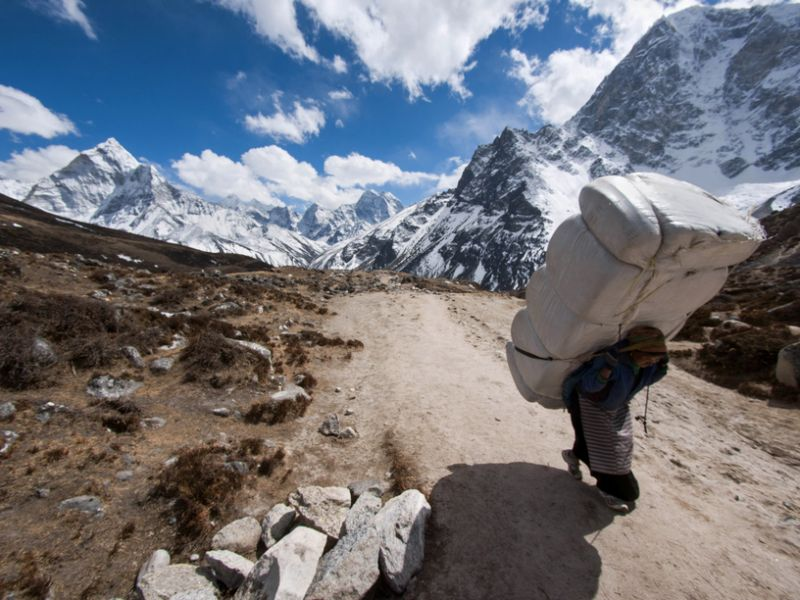 Nepal 9N7TB 9N7TR Tourist attractions Everest