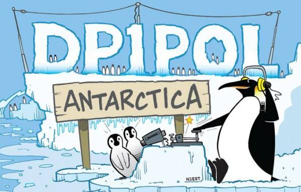 Neumayer Station Antarctica DP1POL Card