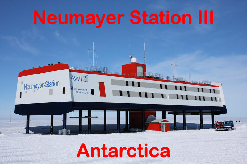 Станция Ноймайер III DP1POL Антарктида DX Новости