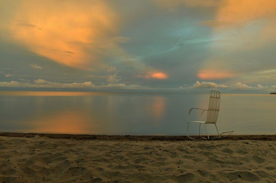 Никарагуа YN3GEA Озеро Никарагуа, остров Ометепе, Плая Санто Доминго.