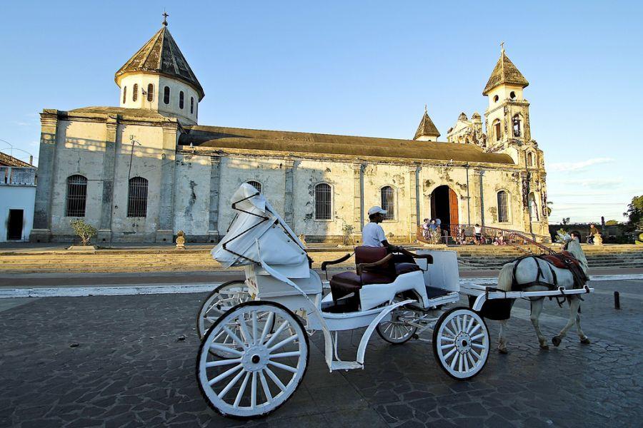 Никарагуа YN5RN YN5PL Туристические достопримечательности Гранада.