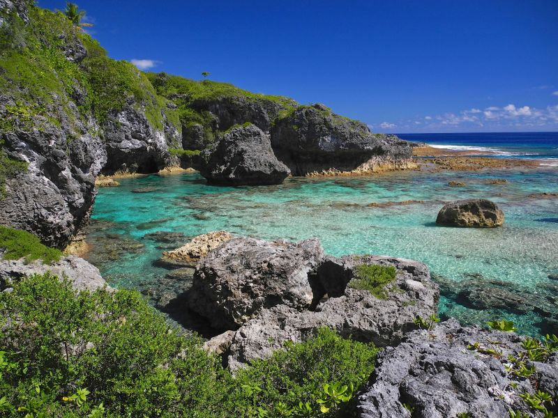Niue Island E6NK E6TE E6SS Tourist attractions