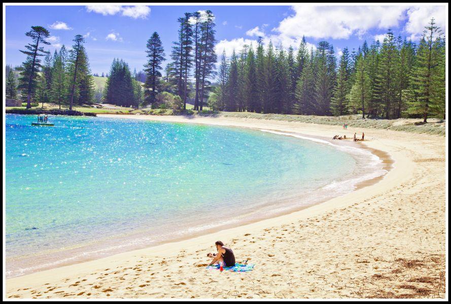 Norfolk Island VK9PAS Emily Bay.