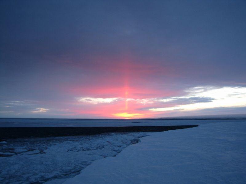 Novolazarevskaya Base RI1AND Antarctica