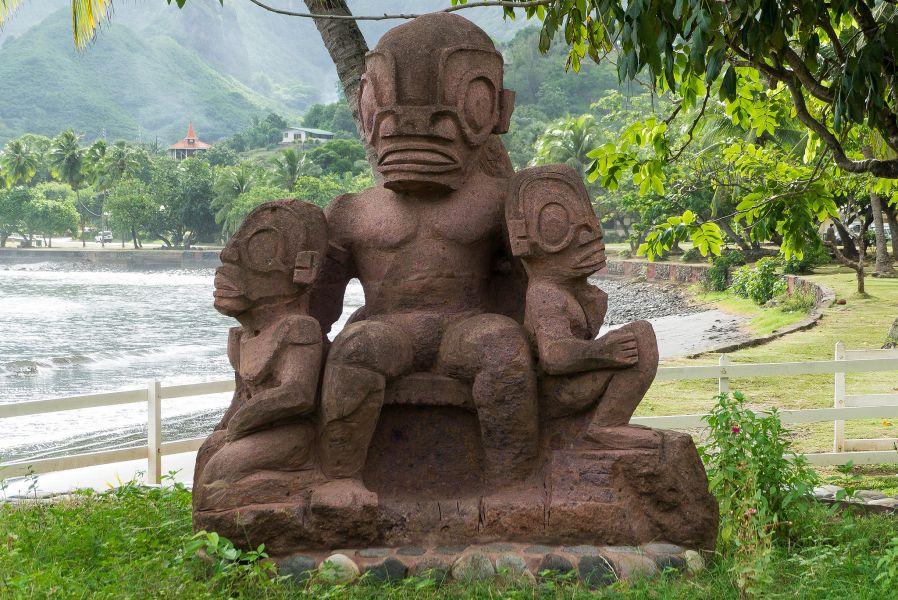 Nuku Hiva Island Marquesas Islands FO/JI1JKW Tourist attractions spot