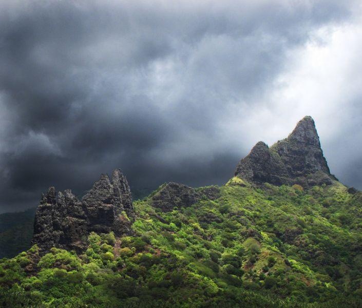 Nuku Hiva Island Marquesas Islands TX7EU Hatiheu Bay