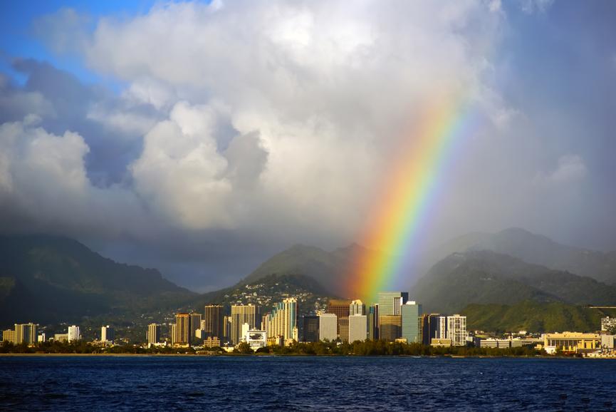 Остров Оаху W4KLS/KH6 Гавайские острова Туристические достопримечательности