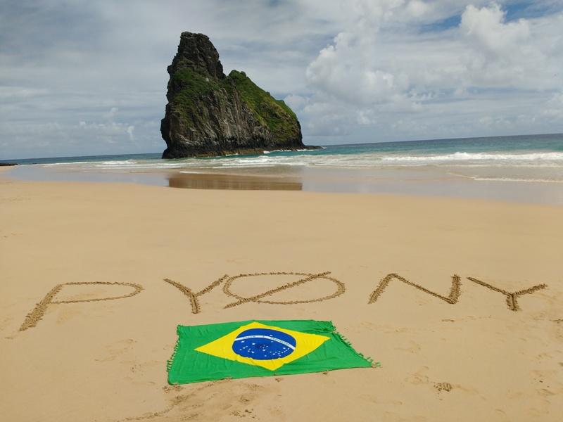 Fernando de Noronha Island PY0NY Bandeira Praia