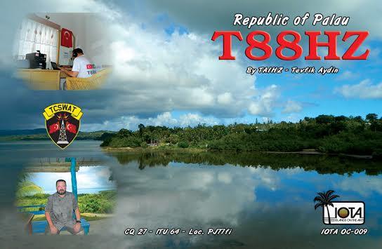 Palau T88HZ QSL