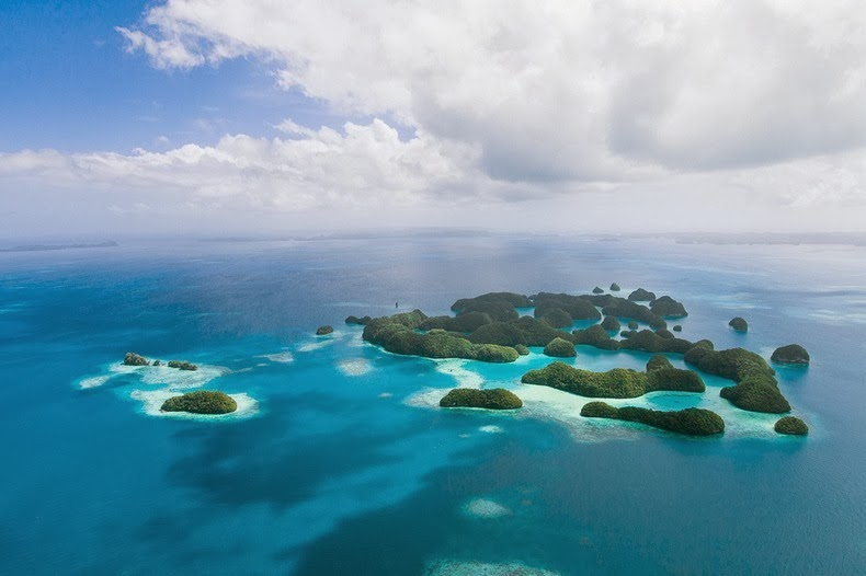 Palau Islands T88WJ Tourist attractions spot