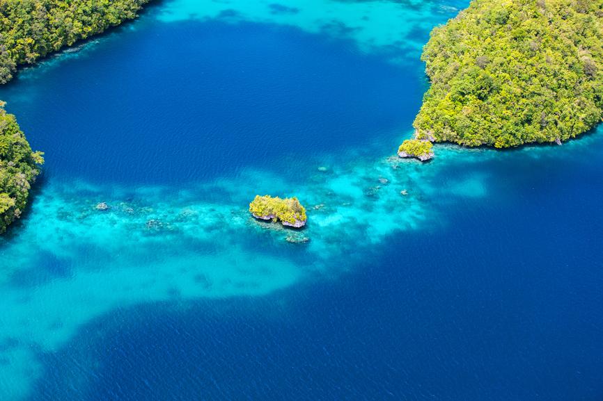 Республика Палау T88YA Туристические достопримечательности
