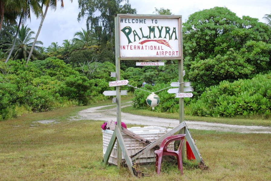 Palmyra Atoll K5P Tourist attactions Palmyra International Airport